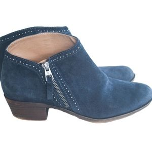 Lucky Brand Benna Studded Suede Leather Booties